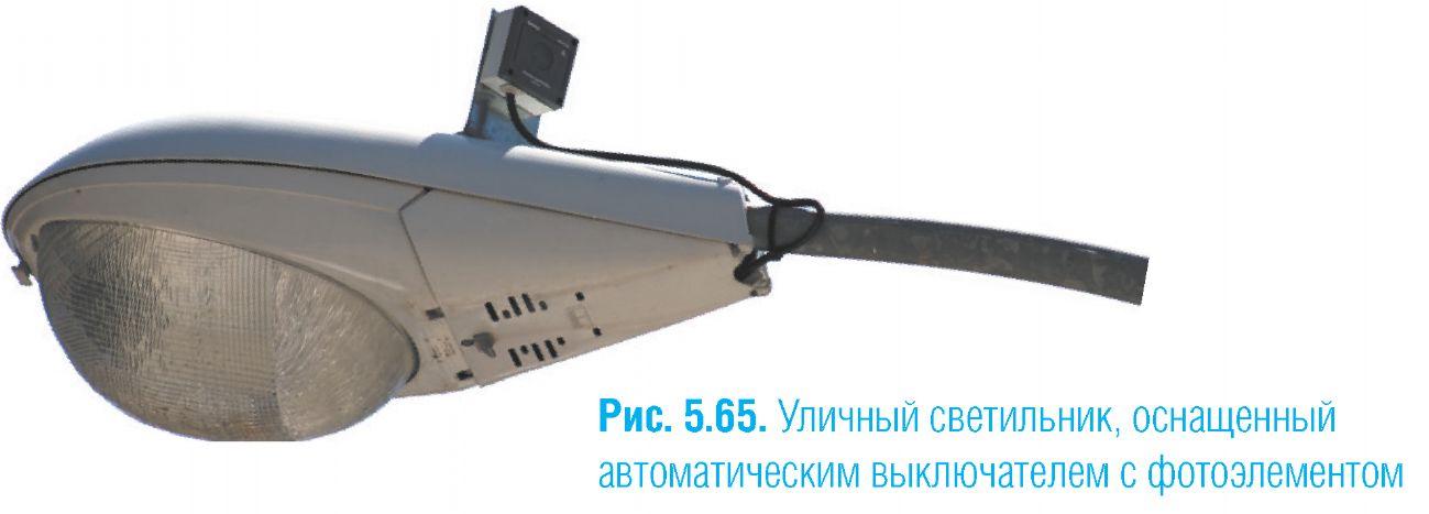 светильник с фотоэлементом
