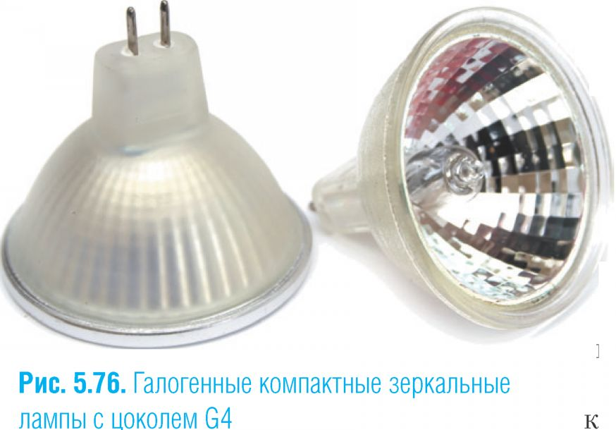 галогенная зеркальная лампа G4