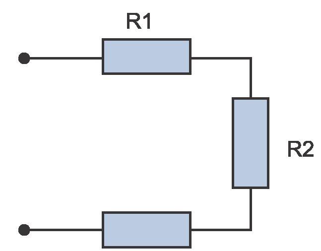 последовательное соединение электроцепи