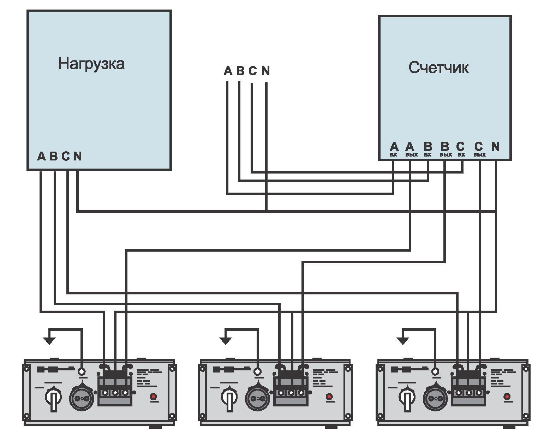 схема подключения проводов в частном доме